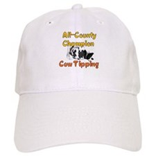 Cow Tipping Champ Baseball Cap