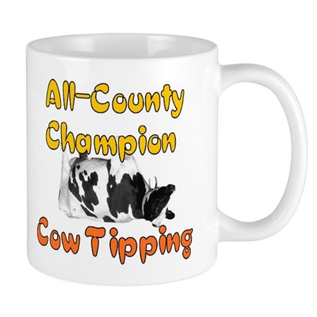 Cow Tipping Champ Mug