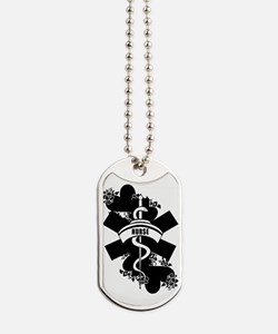 Nurse Heart Tattoo Dog Tags