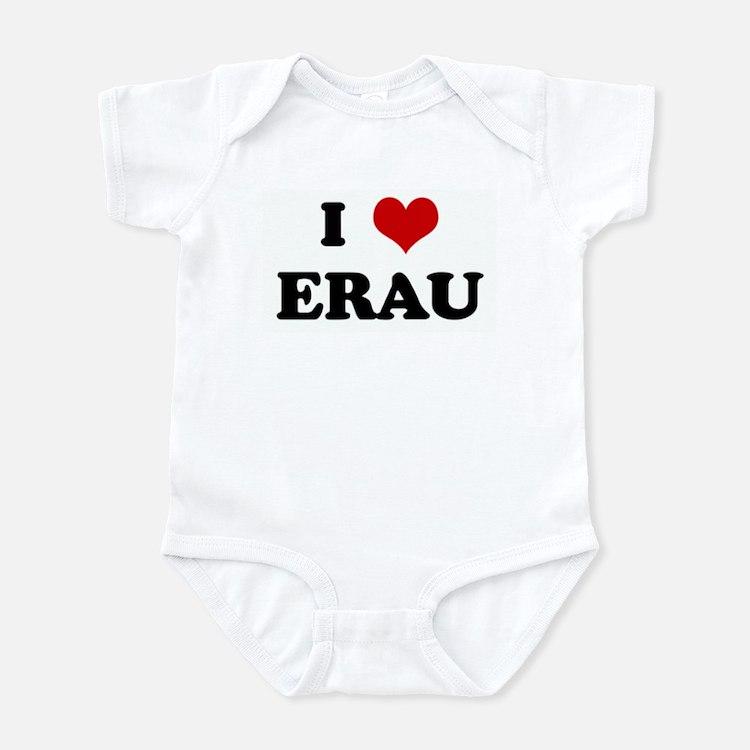 I Love ERAU Infant Bodysuit