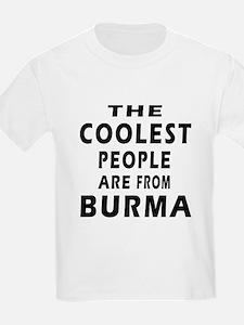 The Coolest Burma Designs T-Shirt