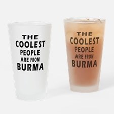 The Coolest Burma Designs Drinking Glass