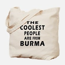 The Coolest Burma Designs Tote Bag
