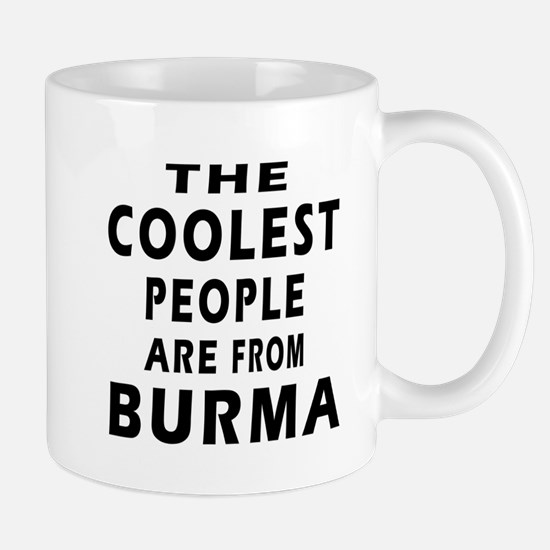 The Coolest Burma Designs Mug