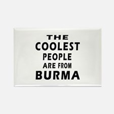 The Coolest Burma Designs Rectangle Magnet