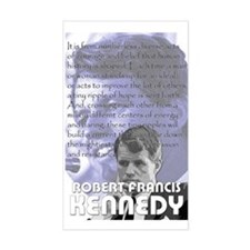 Bobby Kennedy Rectangle Decal