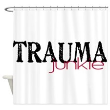 TRAMUAjunkie Shower Curtain