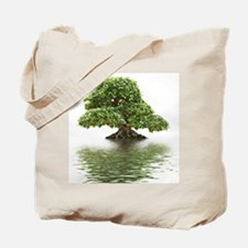 ficus water reflection Tote Bag