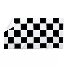 Checkerboard Beach Towel