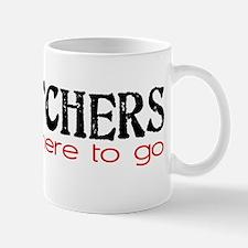 DISPATCHERS tell you where to go Mug