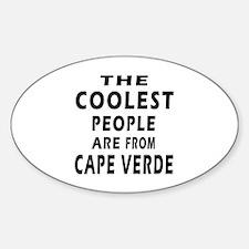 The Coolest Cape Verde Designs Decal