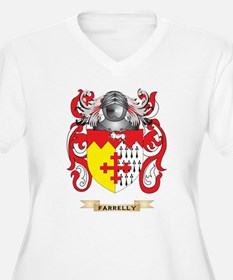 Farrelly Coat of Arms Plus Size T-Shirt