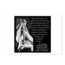 Lawrence Dream Quote Postcards (Package of 8)