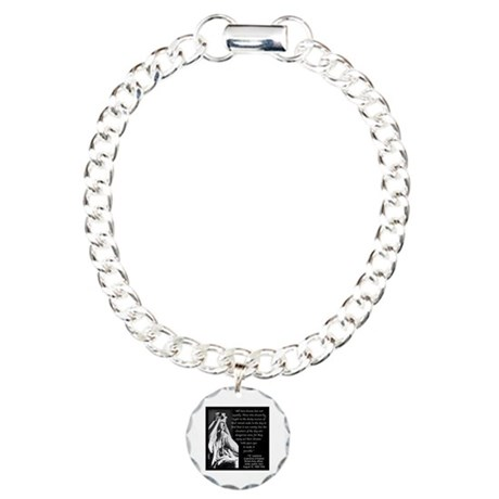 Lawrence Dream Quote Charm Bracelet, One Charm