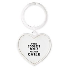 The Coolest Chile Designs Heart Keychain