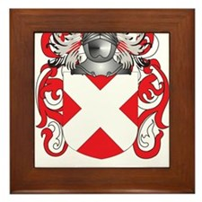 Fast Coat of Arms Framed Tile
