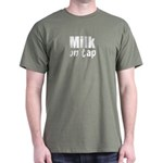 Cute Breastfeeding Slogan Dark T-Shirt