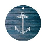 Nautical Round Ornaments