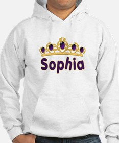 Princess Tiara Sophia Personalized Hoodie Sweatshirt