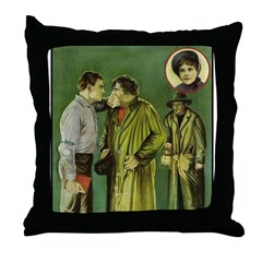 The Big Punch #1 (1921) Throw Pillow