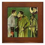 The Big Punch #1 (1921) Framed Tile