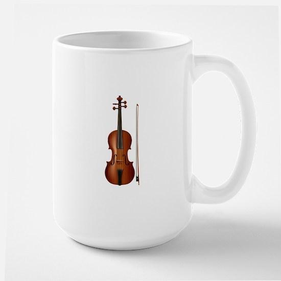 violin and bow Mug