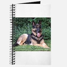 Cute German shepard Journal
