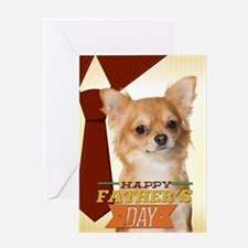 Chihuahua Father's Day Card