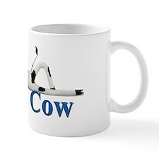 Reclining Mad Cow Small Mug