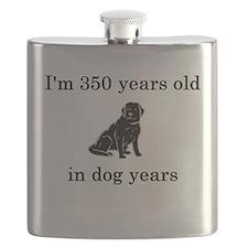 50 birthday dog years lab Flask