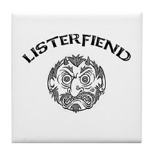 Listerfiend Tile Coaster