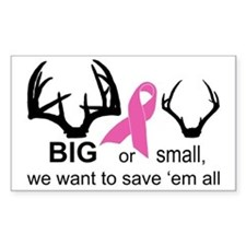 Save the Racks Decal