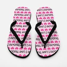 I Love Teaching Flip Flops