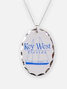 Key West Sailing Blue Necklace