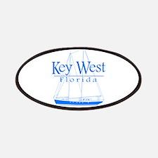 Key West Sailing Blue Patches