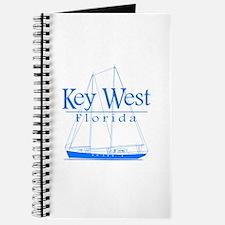Key West Sailing Blue Journal