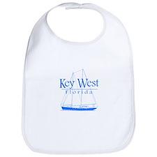 Key West Sailing Blue Bib