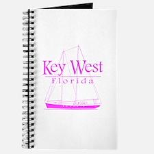 Key West Sailing Pink Journal
