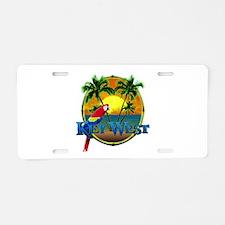 Key West Sunset Aluminum License Plate