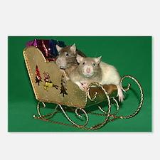 Brim & Panda Christmas Postcards (Package of 8)