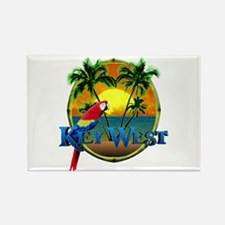 Key West Sunset Rectangle Magnet (100 pack)