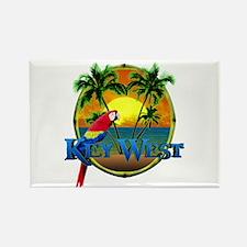 Key West Sunset Rectangle Magnet