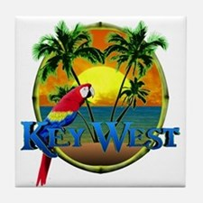 Key West Sunset Tile Coaster