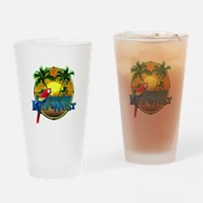 Key West Sunset Drinking Glass