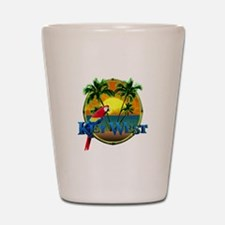 Key West Sunset Shot Glass