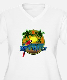 Key West Sunset Plus Size T-Shirt