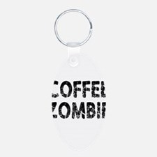COFFEE ZOMBIE Keychains