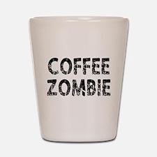 COFFEE ZOMBIE Shot Glass