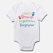 Future Geographer Infant Bodysuit