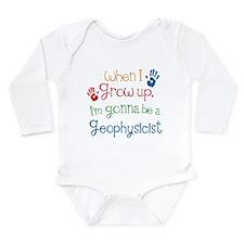 Future Geophysicist Long Sleeve Infant Bodysuit